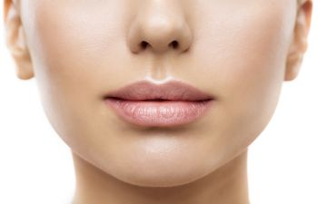 photo of a womans lips