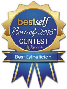 besft of 2013 contest winner, best esthetician - best self magazine