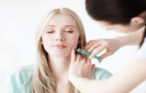 Woman Receiving Facial Filler Atlanta GA