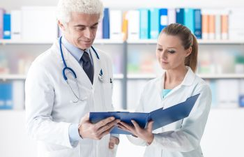 Doctor Diagnosing Skin Conditions Atlanta GA