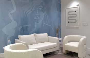 Waiting area at Kalos Facial Plastic Surgery, LLC in Atlanta GA