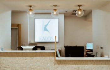 Reception desk at Kalos Facial Plastic Surgery, LLC in Atlanta GA